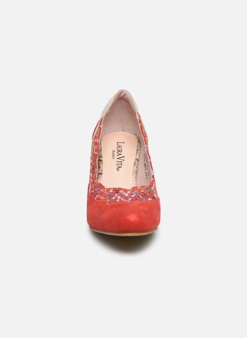 Zapatos de tacón Laura Vita Alcbaneo 56 Rojo vista del modelo