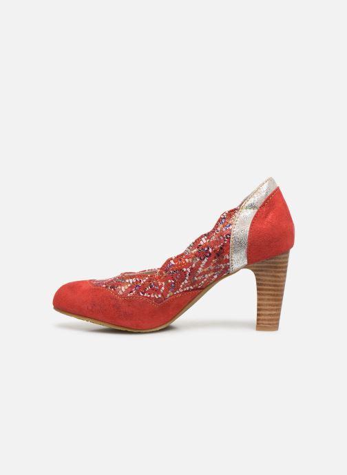 Zapatos de tacón Laura Vita Alcbaneo 56 Rojo vista de frente