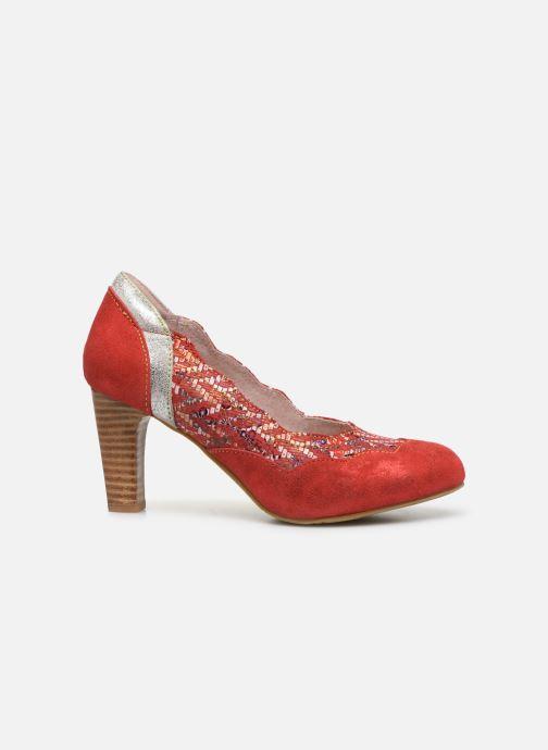Zapatos de tacón Laura Vita Alcbaneo 56 Rojo vistra trasera