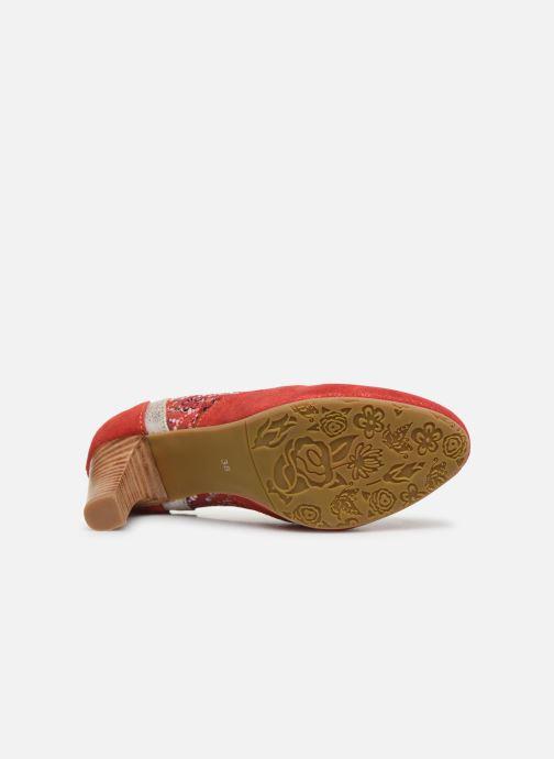 Zapatos de tacón Laura Vita Alcbaneo 56 Rojo vista de arriba