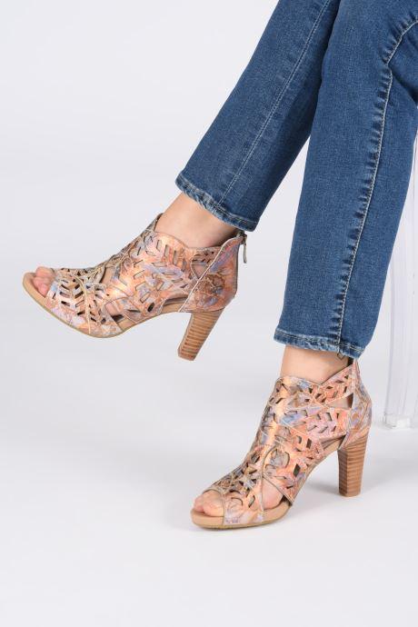 Zapatos de tacón Laura Vita Alcbaneo 24 Multicolor vista de abajo