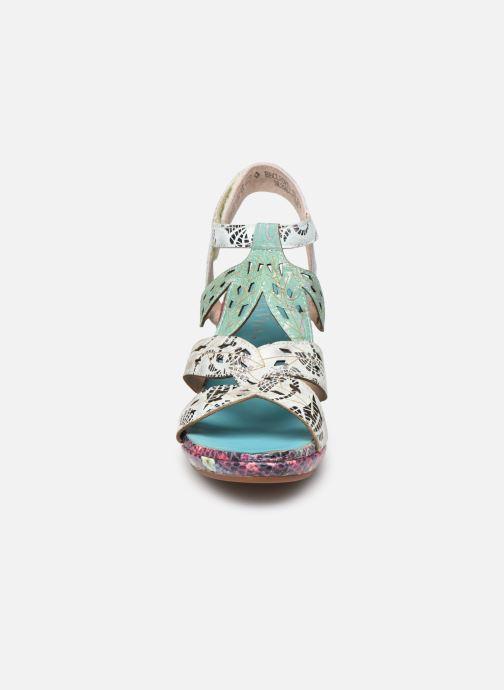 Sandalen Laura Vita Beclforto 11 blau schuhe getragen