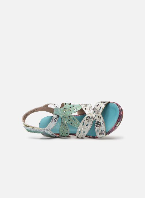 Sandales et nu-pieds Laura Vita Beclforto 11 Bleu vue gauche