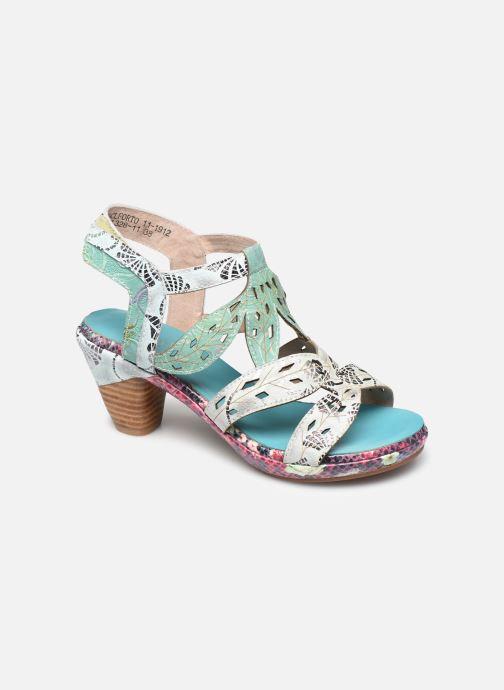 Sandales et nu-pieds Laura Vita Beclforto 11 Bleu vue détail/paire