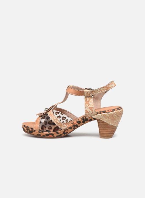 Sandales et nu-pieds Laura Vita Beclforto 51 Marron vue face