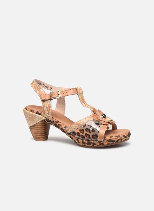 Sandales et nu-pieds Laura Vita Beclforto 51 Marron vue derrière
