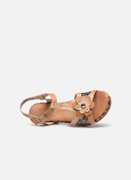 Sandales et nu-pieds Laura Vita Beclforto 51 Marron vue gauche