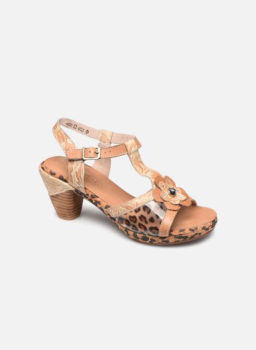 Sandales et nu-pieds Laura Vita Beclforto 51 Marron vue détail/paire