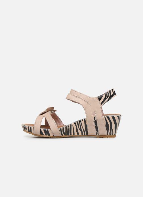 Sandales et nu-pieds Laura Vita Beclindao 02 Beige vue face