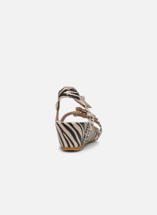 Sandales et nu-pieds Laura Vita Beclindao 02 Beige vue droite