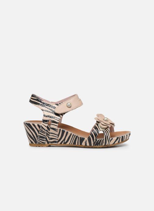 Sandales et nu-pieds Laura Vita Beclindao 02 Beige vue derrière