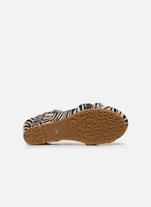 Sandales et nu-pieds Laura Vita Beclindao 02 Beige vue haut