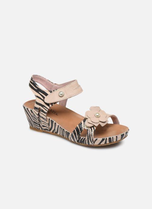 Sandales et nu-pieds Laura Vita Beclindao 02 Beige vue détail/paire