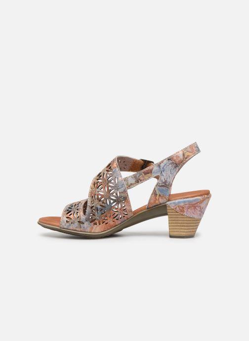 Sandales et nu-pieds Laura Vita Becttinoo 15 Multicolore vue face