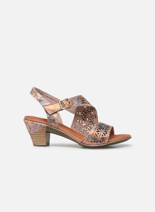 Sandales et nu-pieds Laura Vita Becttinoo 15 Multicolore vue derrière