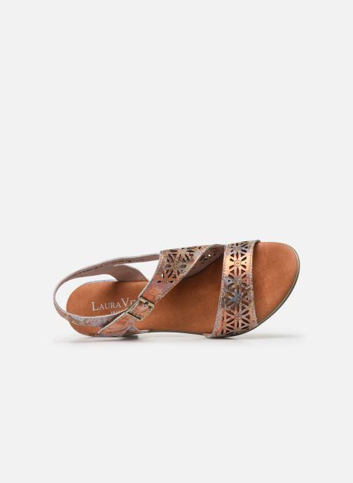Sandales et nu-pieds Laura Vita Becttinoo 15 Multicolore vue gauche
