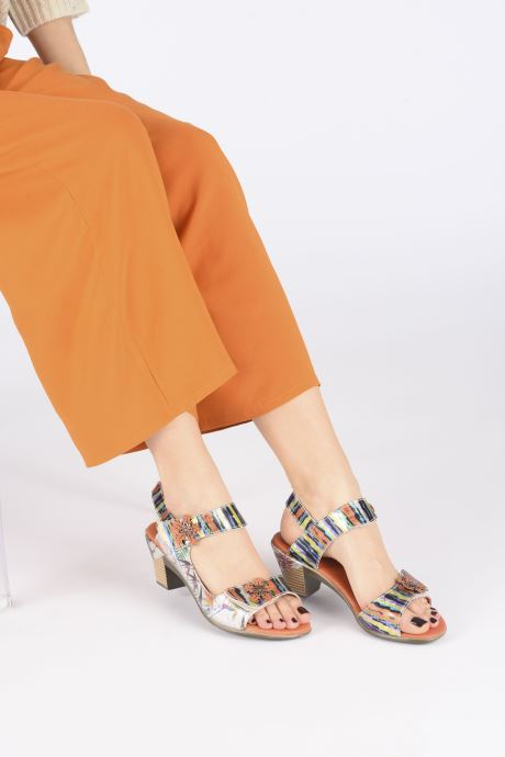 Sandales et nu-pieds Laura Vita Becttinoo 223 Multicolore vue bas / vue portée sac