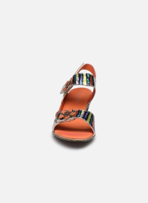 Sandales et nu-pieds Laura Vita Becttinoo 223 Multicolore vue portées chaussures