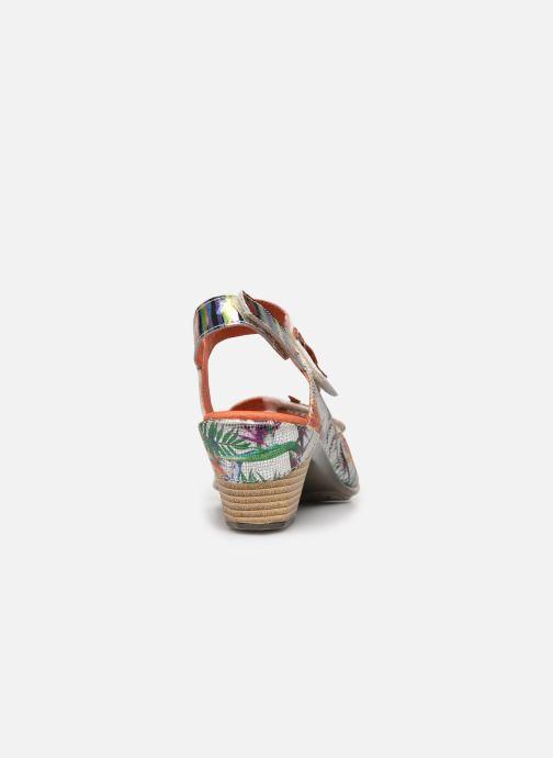 Sandales et nu-pieds Laura Vita Becttinoo 223 Multicolore vue droite