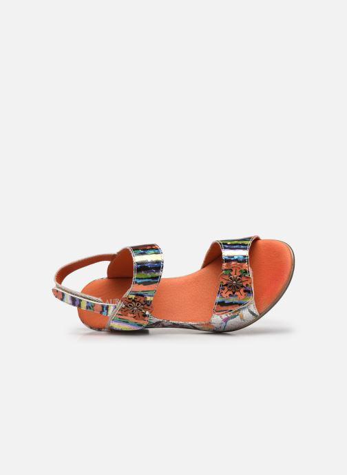 Sandales et nu-pieds Laura Vita Becttinoo 223 Multicolore vue gauche
