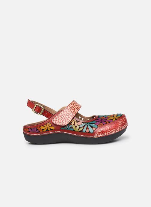 Sandales et nu-pieds Laura Vita Bicllyo 04 Rouge vue derrière