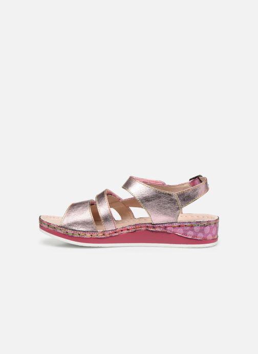 Sandales et nu-pieds Laura Vita Brcuelo 06 Rose vue face