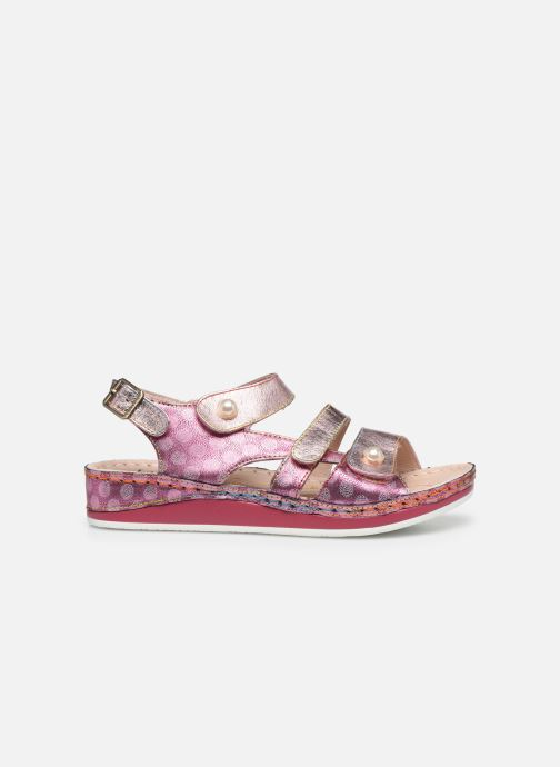 Sandales et nu-pieds Laura Vita Brcuelo 06 Rose vue derrière
