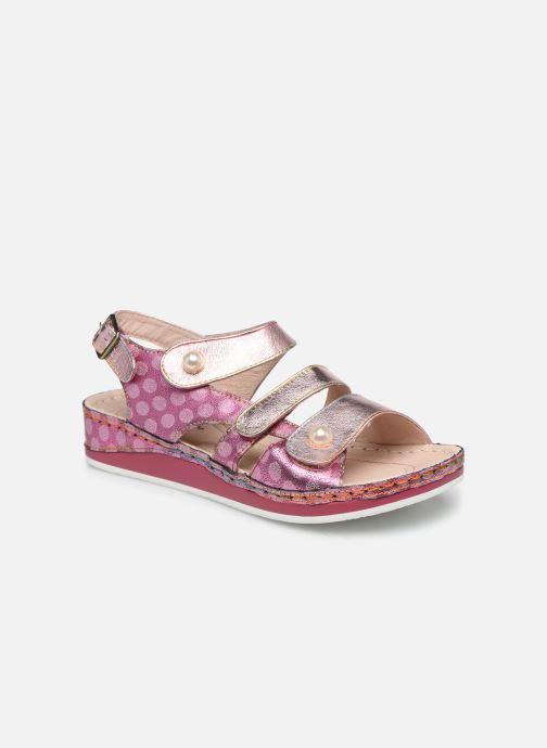 Sandales et nu-pieds Laura Vita Brcuelo 06 Rose vue détail/paire