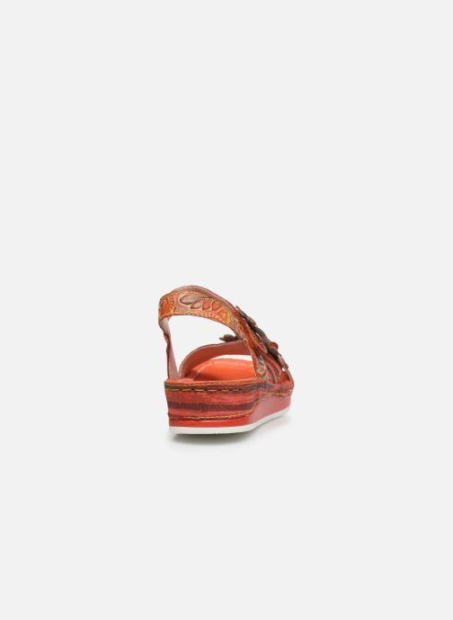 Sandali e scarpe aperte Laura Vita Brcuelo 81 Rosso immagine destra