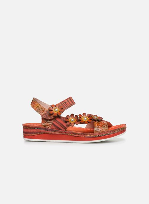 Sandales et nu-pieds Laura Vita Brcuelo 81 Rouge vue derrière