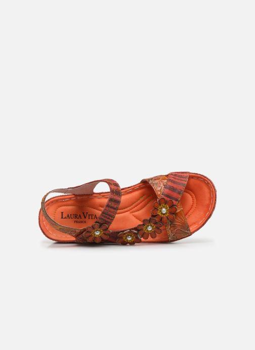 Sandali e scarpe aperte Laura Vita Brcuelo 81 Rosso immagine sinistra