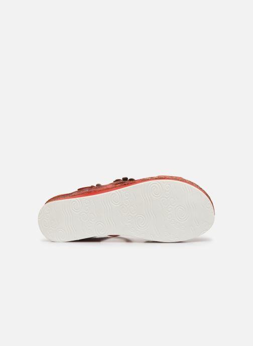 Sandales et nu-pieds Laura Vita Brcuelo 81 Rouge vue haut