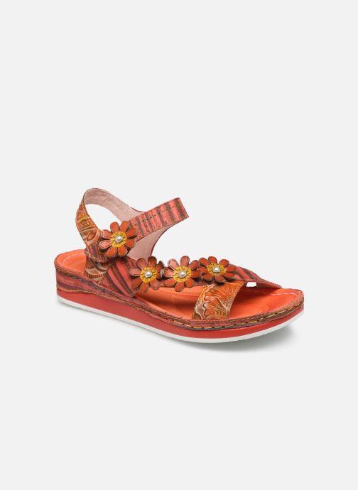 Sandales et nu-pieds Laura Vita Brcuelo 81 Rouge vue détail/paire