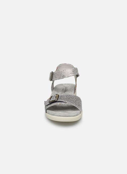 Sandales et nu-pieds Laura Vita Docbbyo 03 Argent vue portées chaussures