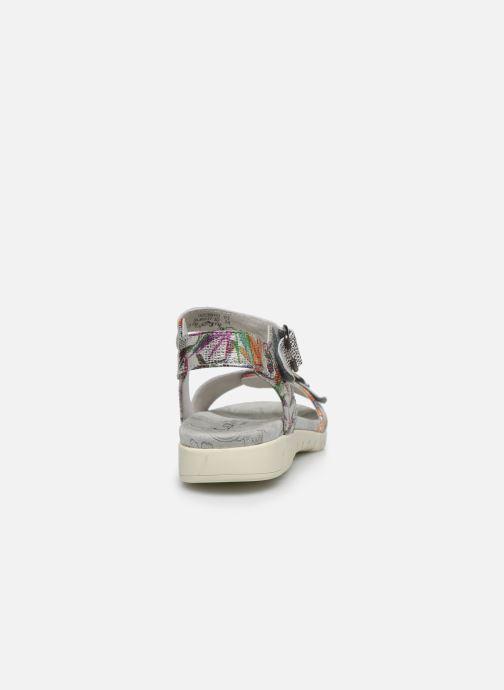 Sandales et nu-pieds Laura Vita Docbbyo 03 Argent vue droite