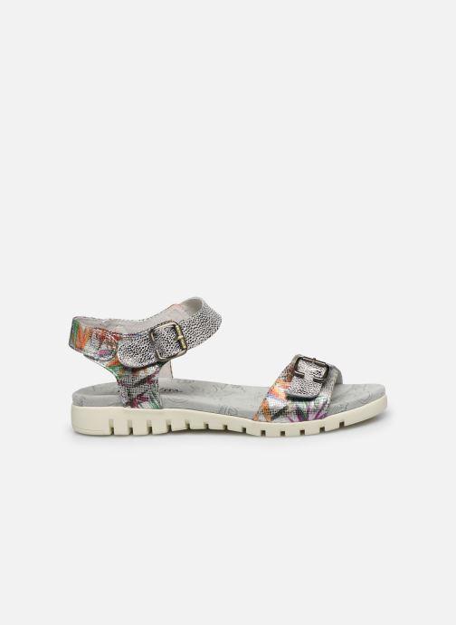 Sandales et nu-pieds Laura Vita Docbbyo 03 Argent vue derrière