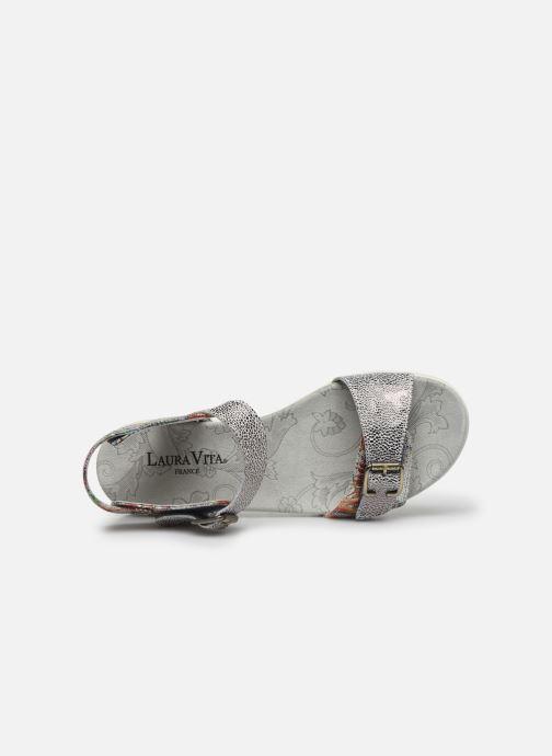 Sandales et nu-pieds Laura Vita Docbbyo 03 Argent vue gauche