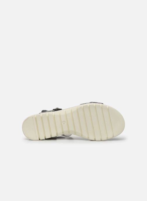 Sandales et nu-pieds Laura Vita Docbbyo 03 Argent vue haut
