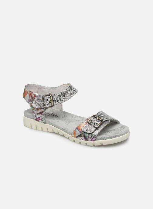 Sandales et nu-pieds Laura Vita Docbbyo 03 Argent vue détail/paire