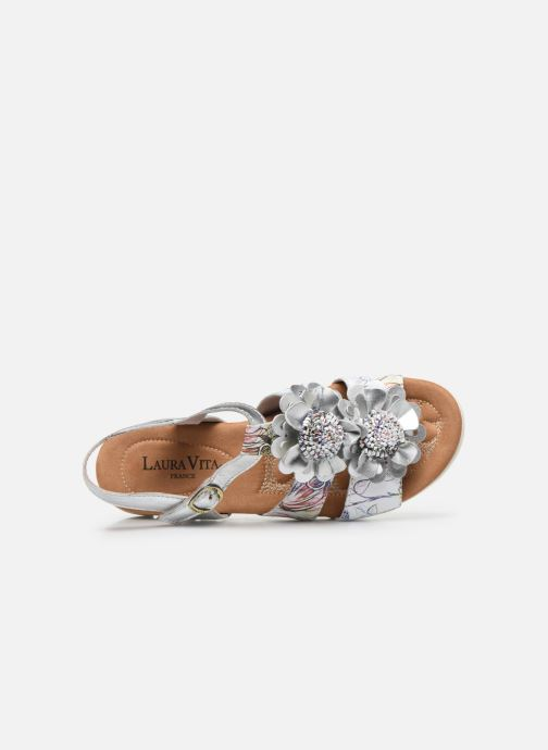 Sandales et nu-pieds Laura Vita Docbbyo 041 Blanc vue gauche