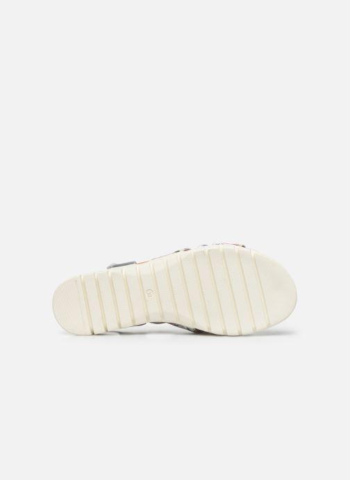 Sandales et nu-pieds Laura Vita Docbbyo 041 Blanc vue haut