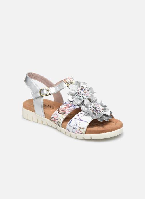 Sandales et nu-pieds Laura Vita Docbbyo 041 Blanc vue détail/paire