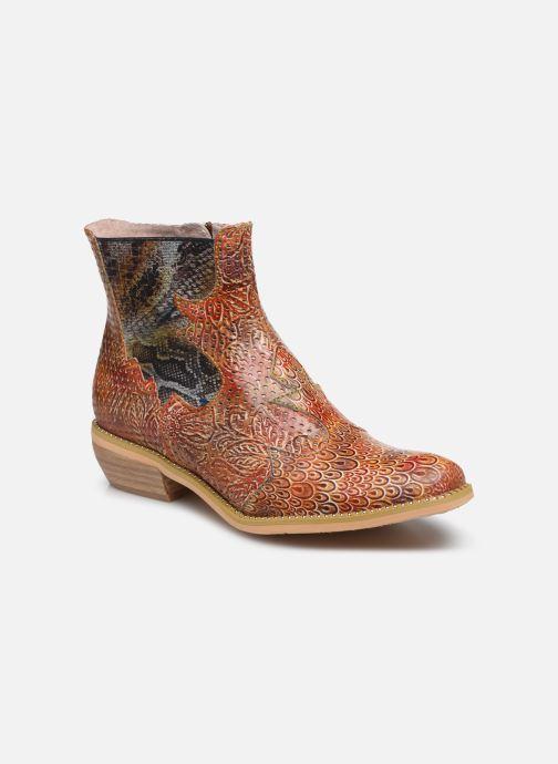 Bottines et boots Laura Vita Ercwinao 23 Rouge vue détail/paire