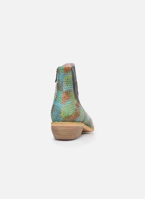 Bottines et boots Laura Vita Ercwinao 23 Bleu vue droite