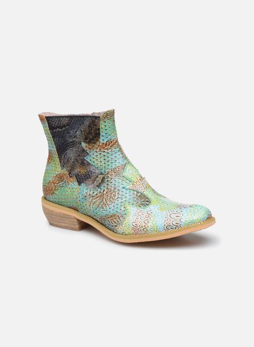 Bottines et boots Laura Vita Ercwinao 23 Bleu vue détail/paire