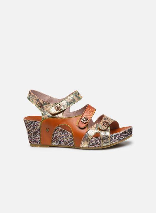 Sandales et nu-pieds Laura Vita Facdiao 12 Marron vue derrière