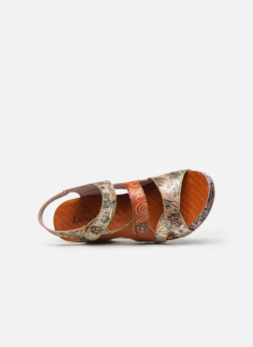 Sandales et nu-pieds Laura Vita Facdiao 12 Marron vue gauche