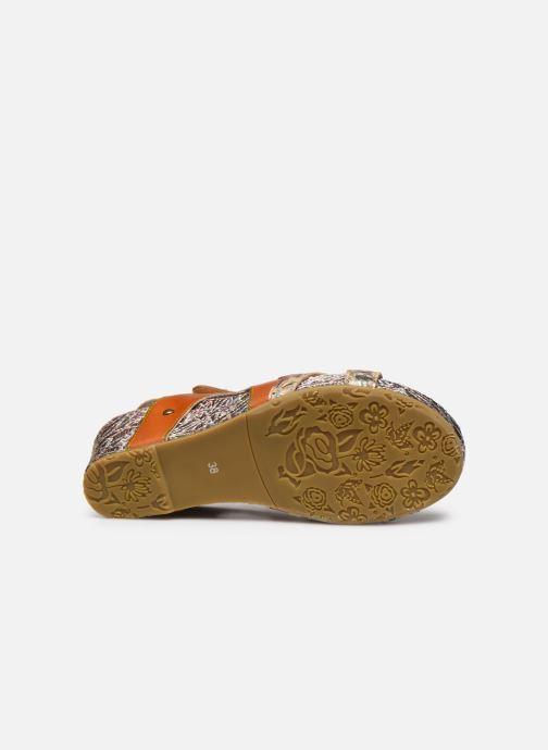 Sandali e scarpe aperte Laura Vita Facdiao 12 Marrone immagine dall'alto