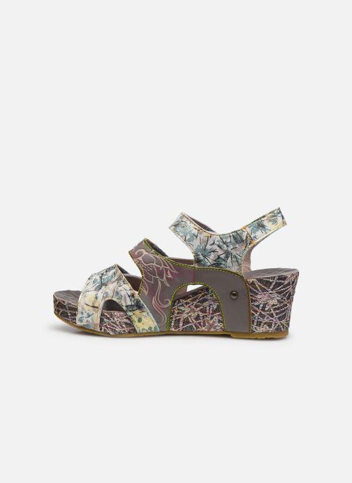 Sandales et nu-pieds Laura Vita Facdiao 12 Gris vue face