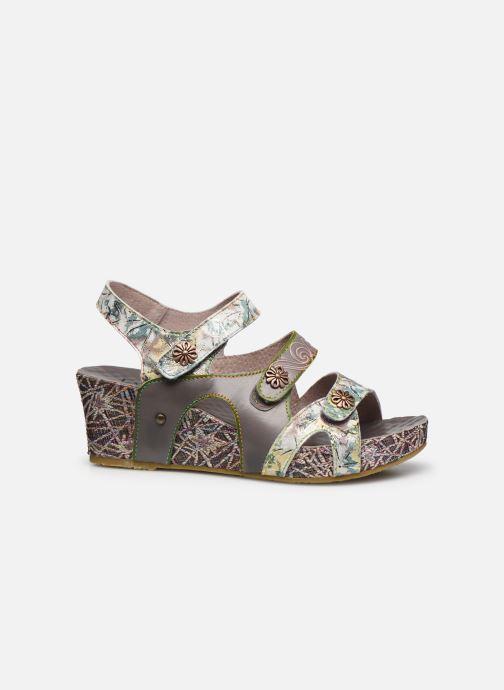 Sandales et nu-pieds Laura Vita Facdiao 12 Gris vue derrière